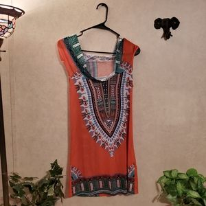 Women's size small sleeveless top with hood